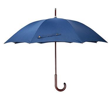 弯木柄直伞