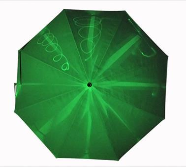 新荧光夜光质感直伞