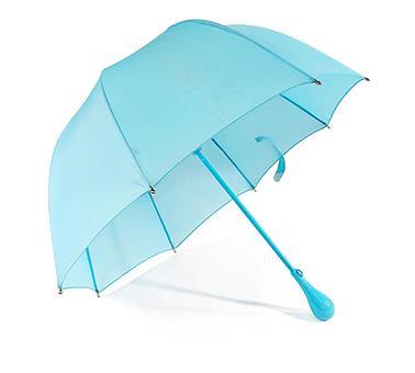 儿童圆头小蓝伞