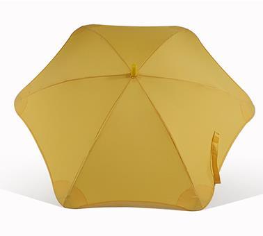 安全包边黄色直伞