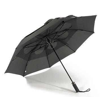 专利两折抗风自动折叠伞